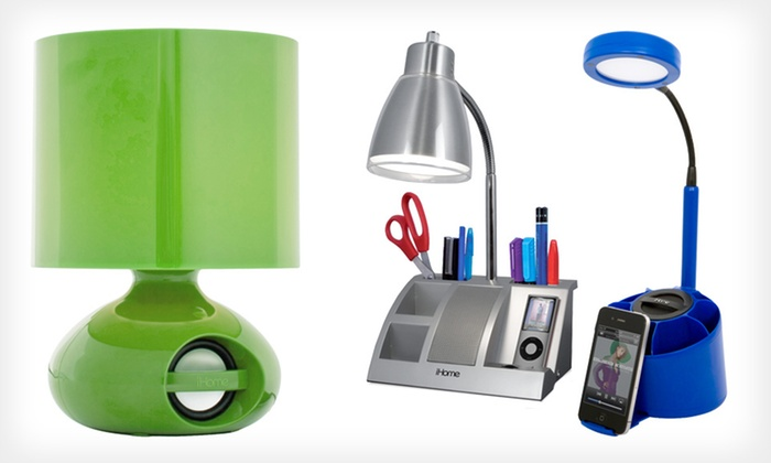 IHome Speaker Lamps: IHome Speaker Lamps (Up To 55% Off).