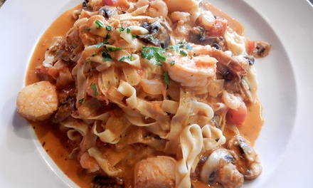 Italian Dinner for Two at Montecatini Ristorante (Up to 41% Off)