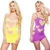 2-Pack Neon Seamless Mini-Dresses