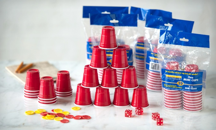 120 2-Ounce Miniature Red Party Cups: $12.99 for 120 2-Ounce Miniature Red Party Cups ($21 List Price). Free Returns.
