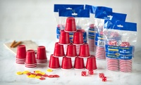 GROUPON: $12.99 for 120 2-Ounce Red Party Cups 120 2-Ounce Miniature Red Party Cups