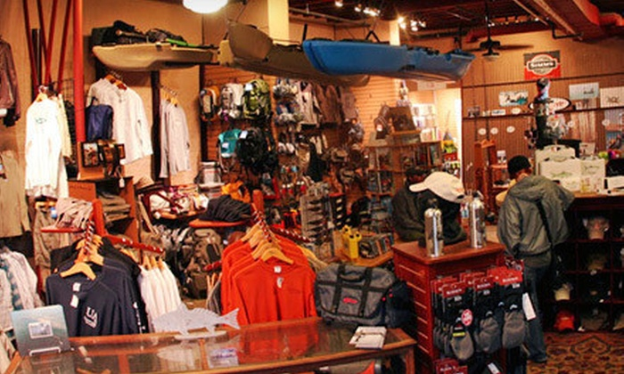 Uptown Angler - Central Business District: Outdoor Clothing and Gear at Uptown Angler (Up to 52% Off). Two Options Available.
