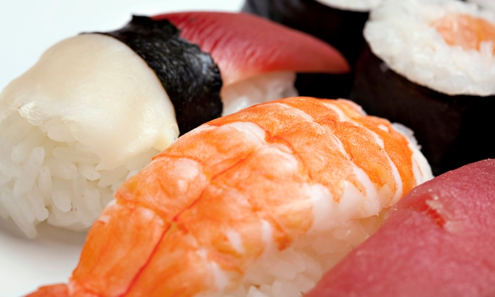 Red Bar & Sushi - Downtown Columbus: $17 for $30 Worth of Sushi and Japanese Food at Red Bar & Sushi