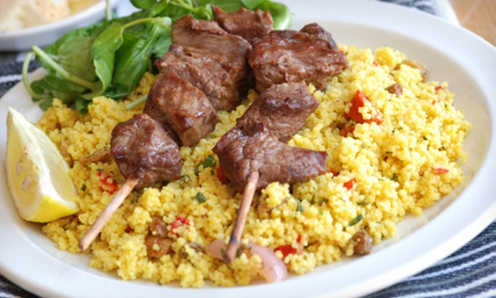 Shoom Shoom - Thornhill: $20 for $40 Worth of Middle Eastern Cuisine at Shoom Shoom