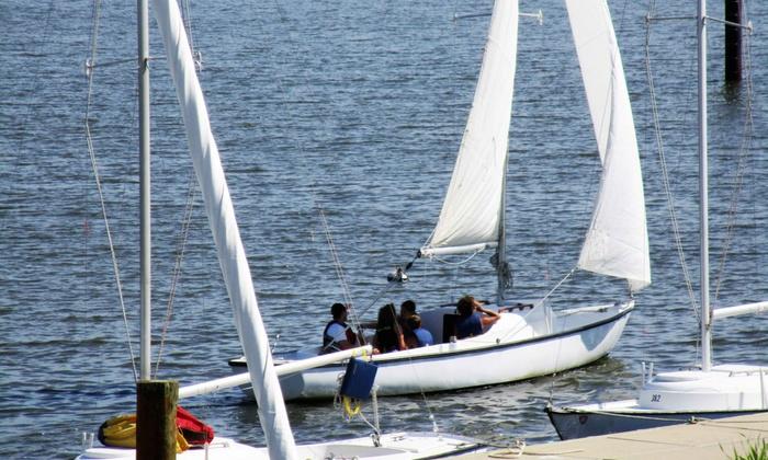 Annapolis Sailing School - Annapolis: Two-Hour Sailing Lesson from Annapolis Sailing School (Up to 59% Off)
