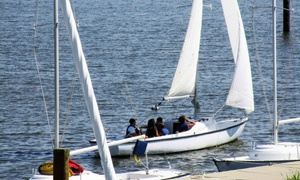 Annapolis Sailing School: Two-Hour Sailing Lesson from Annapolis Sailing School (Up to 59% Off)