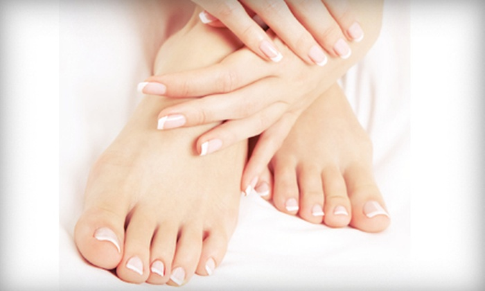 Nails by Allison Ingallina - Rochester: Regular or Gel Manicure with Regular Pedicure at Nails by Allison Ingallina (55% Off)
