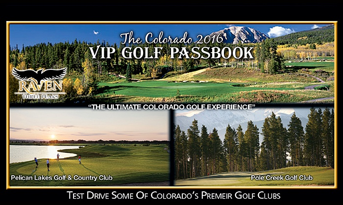 Mile Hi Media - Suite 1100: VIP Golf Passbook & Northern or Southern Colorado VIP Golf Cards From Mile Hi Media (39% Off)