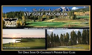 Mile Hi Media: VIP Golf Passbook & Northern or Southern Colorado VIP Golf Cards From Mile Hi Media (39% Off)