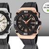 Elini Barokas Men's Comanche Watches