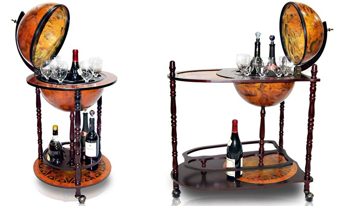 Betere Globe Bar Drinks Cabinet | Groupon Goods QH-79
