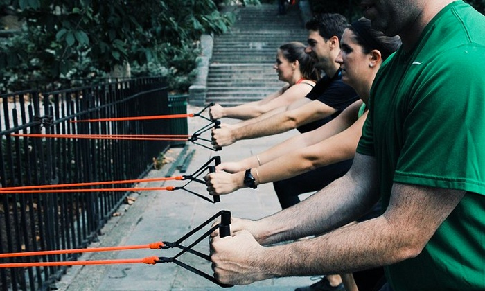 Tony Math Training - Multiple Locations: 5 or 10 High-Intensity Interval Training Classes at Tony Math Training (Up to 72% Off)