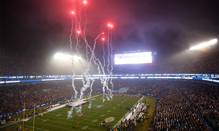 Dr Pepper ACC Football Championship Game - Bank of America Stadium: Dr Pepper ACC Football Championship Game on Saturday, December 5, at 7:45 or 8 p.m.