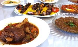 Taste of Jerusalem Cafe: Mediterranean Food and Drinks at Taste of Jerusalem Cafe (Up to 53% Off). Two Options Available.