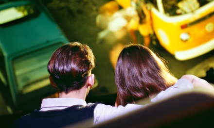 $12 for a Drive-in Double Feature with Popcorn and Soda for Two at The Showboat Drive-in (Up to $19 Value)