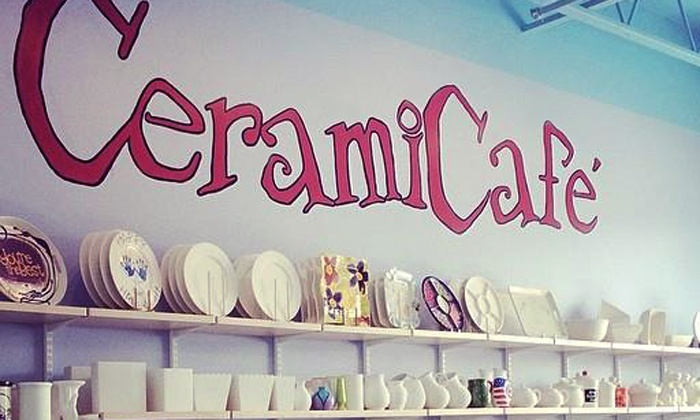 CeramiCafe - Multiple Locations: $17 for $32 Worth of Paint-Your-Own Pottery at CeramiCafe
