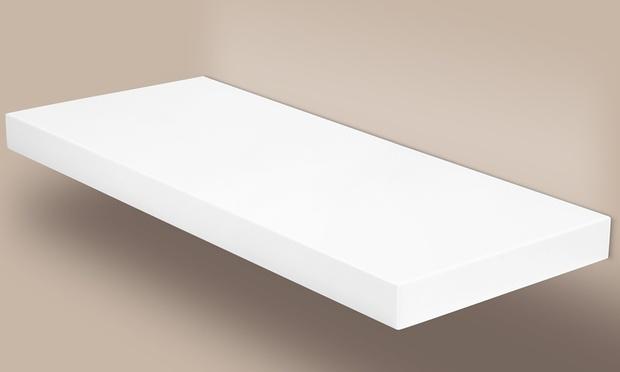 floating shelves in 4 colours groupon goods. Black Bedroom Furniture Sets. Home Design Ideas