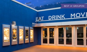 Studio Movie Grill: One, Two, or Four Groupons, Each Good for One Movie Ticket at Studio Movie Grill (Up to 44% Off)