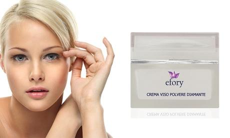 1, 2 o 3 cremas con polvo de diamante puro Efory Cosmetics Oferta en Groupon