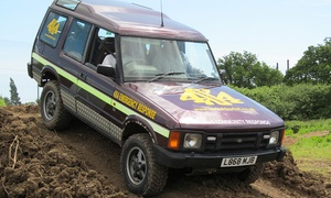 Dorset 4X4: Dorset 4x4: £39.95 for Off-Road Driving Experience (Up to 66% Off)