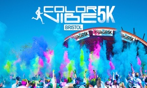 Color Vibe: Color Vibe Bristol 2016: 5K Run Ticket Plus T-Shirt (Up to 32% Off)
