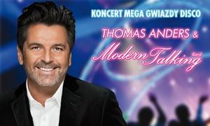 Walentynki 2017: Thomas Anders i Modern Talking Band!: Bilet na walentynkowy koncert Thomasa Andersa i Modern Talking Band od 99 zł w katowickim Spodku (zamiast 159 zł)