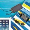 Voltix 13,600mAh Solar-Powered Dual-USB External Battery Charger