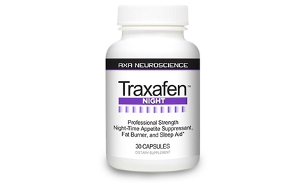 Traxafen Night Time Diet and Sleep Aid (30-Count)