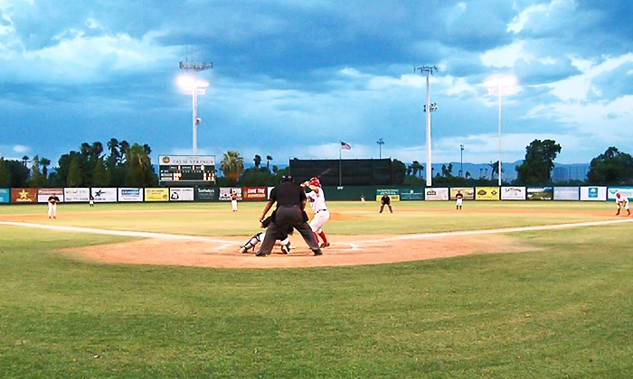 Palm Springs Power Baseball - Sunrise Park: $28 for Family Package or 10 General Admission Tickets to Palm Springs Power Baseball ($54 Value)
