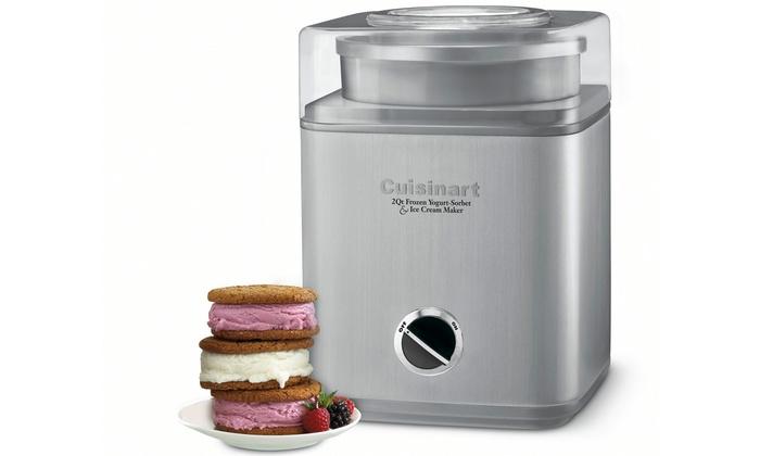 Cuisinart Food Processor Frozen Yogurt
