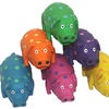 Grunting Globlet Latex Pig Dog Toy (3-Pack)