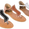 Forever Young Couture Women's Flat Sandals