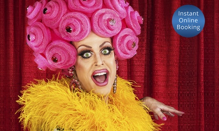 Dinner + Wine and Drag Bingo or Trivia for Two ($29) or Four People ($55) at Vau d'vile Drag Cabaret (Up to $112 Value)