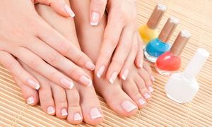Anna Maria Gaglioli: 3 sedute di manicure e pedicure estetico da AMG Estetica & Beauty, in zona Monteverde (sconto fino a 74%)