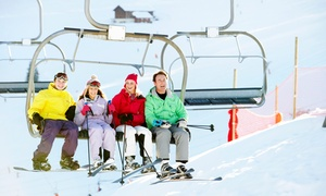 Woodbury Ski Area: Lift Tickets or Skiing or Snowboarding Lesson at Woodbury Ski Area (Up to 44%  Off). Four Options Available.