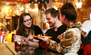 John Strongbow's Tavern: Tavern Cuisine at John Strongbow's Tavern (50% Off). Two Options Available.