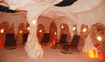 Three or Five Salt-Cave Sessions at Primal Oceans Salt Cave (Up to 46% Off)