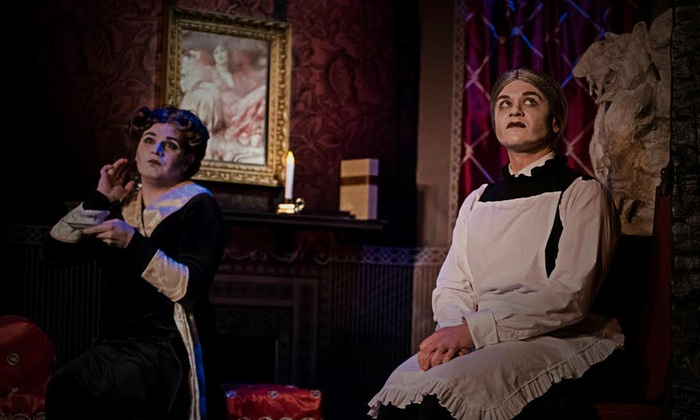 """""""The Mystery of Irma Vep"""" - The Players Theatre: Horror-Comedy """"The Mystery of Irma Vep"""" on Fridays at 7 p.m., January 8–29"""