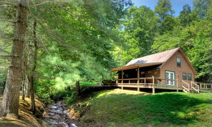 hidden creek cabins in bryson city nc groupon getaways
