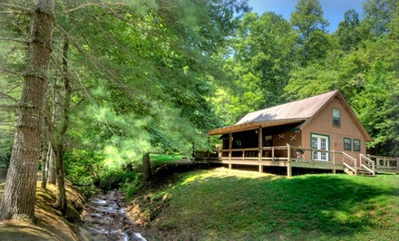 2-Night Stay in a Cabin at Hidden Creek Cabins in Great Smoky Mountains, NC. Combine up to 4 Nights.