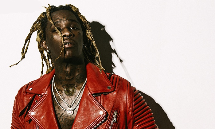 Young Thug - Clayton's Beach Bar & Event Venue: Young Thug on March 20 at 9 p.m.
