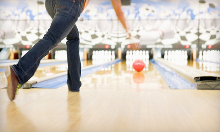 Parkville Lanes - Baltimore: $30 for Two Hours of Duckpin Bowling for Four with Rock 'N' Bowl Option at Parkville Lanes ($61 Value)