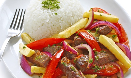 $11 for $20 Worth of Peruvian Food at Lima Limon (Up to 45% Off)