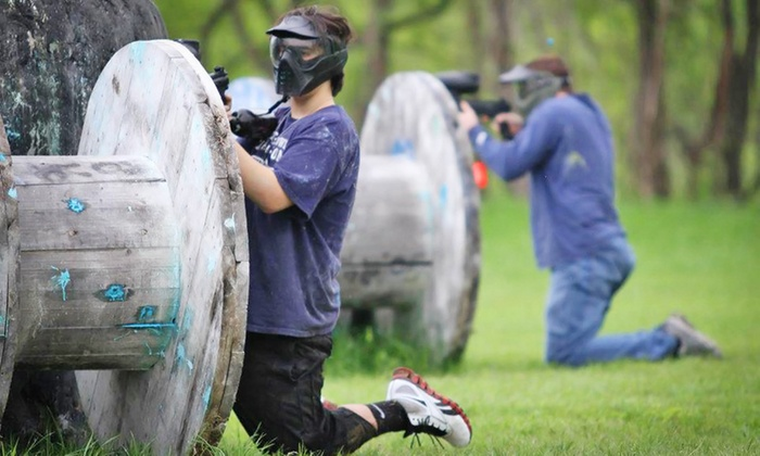 Cousins Paintball  - Cousins Paintball Dallas: Admission, Equipment, and Paintballs for One, Two, Four, or Six People at Cousins Paintball (Up to 60% Off)