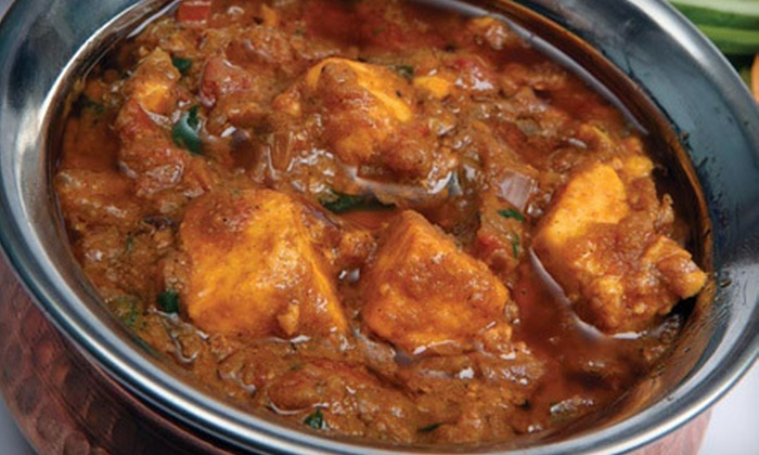 Swad Of India - Bentley Place: $15 for $30 Worth of Indian Dinner Fare at Swad Of India in Buffalo Grove