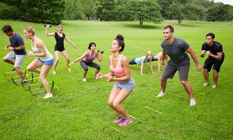 5 o 10 sesiones de entrenamiento funcional de 'Boot Camp' en el exterior desde9,90 € con NaturFit