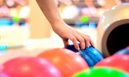 $25 for 2 Hours of Bowling with a16-Inch 1-Topping Pizza and Pitcher of Soda at Funquest ($54.95 Value)