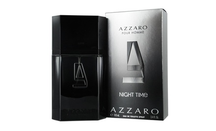 Azzaro Pour Homme Night Time Eau de Toilette; 3.4 Fl. Oz.