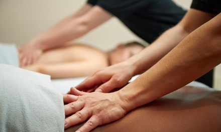$99.99 for a Couples Spa Package with Massage and Detoxifying Sauna Session at Ahhh! Massage ($230 Value)