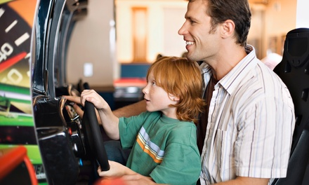 $40 for Family-Fun Outing for 4 with Passes and Pizza Meal at America's Action Territory ($83.75 Value)